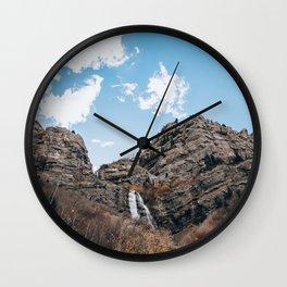 Bridal Veil Falls Wall Clock
