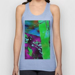The Lady in the Window Unisex Tank Top