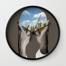 Homesick Wall Clock