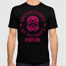 Bad Boy Club: Brotherhood of Mutants  Mens Fitted Tee LARGE Black