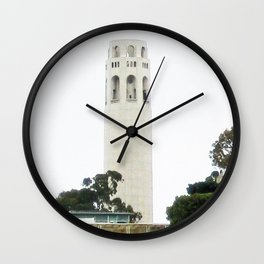 View of the Coit Tower Wall Clock