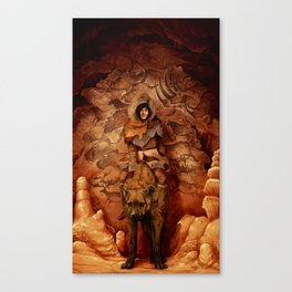 The Old Cave Canvas Print