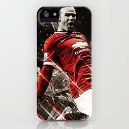 Wayne Rooney iPhone Case