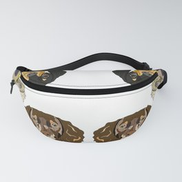 Triple Doxies Fanny Pack
