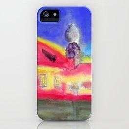 Kleine Wallfahrtskirche bei Kelheim iPhone Case