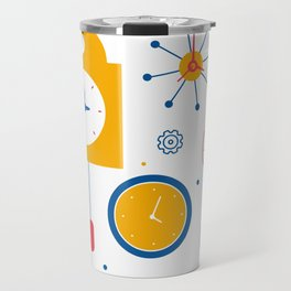 Clocks Travel Mug
