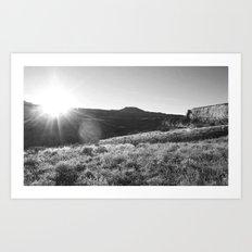 Chasing Daylight 2.0 Art Print