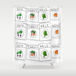 Produce Shower Curtain