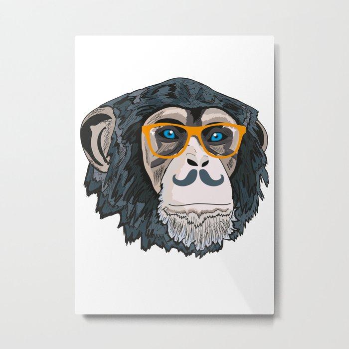Monkey! Metal Print