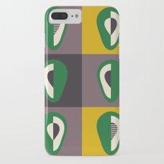 Avocado print iPhone 7 Plus Slim Case