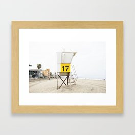 Bech Tower 17 Framed Art Print