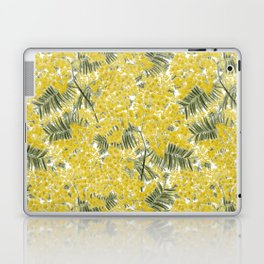 Yellow Mimosa Laptop & iPad Skin