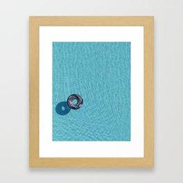 Cool Pool Framed Art Print