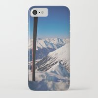 ski iPhone & iPod Cases featuring ski by Vii.