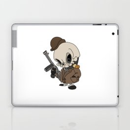 Cute Gangster Skull Laptop & iPad Skin