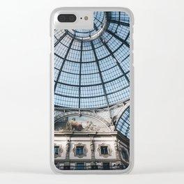 Galleria Vittorio Emanuele II in Milan Clear iPhone Case