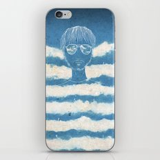 On the clouds iPhone Skin