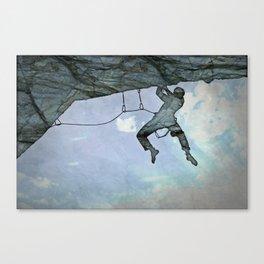 Climb On Canvas Print
