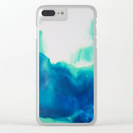 let it fall Clear iPhone Case