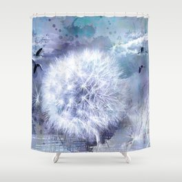 Inflorescence Shower Curtain