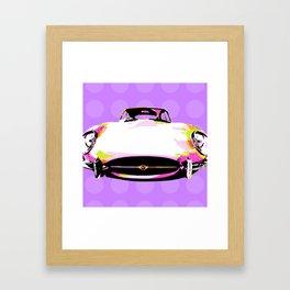 Pop Jag Framed Art Print