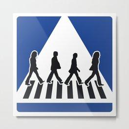 Abbey Road Metal Print