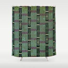 Peruvian prehispanic pattern 2 Shower Curtain