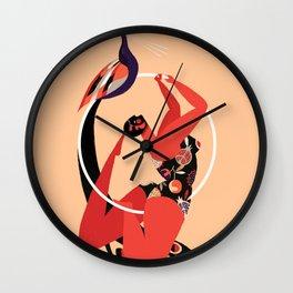 tropical ephemera Wall Clock