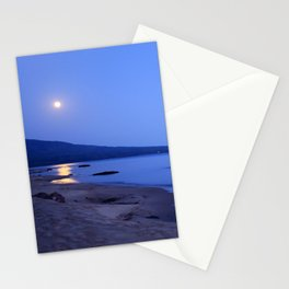 Moon Shimmering on Superior Stationery Cards