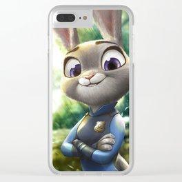 Judy Hopps Clear iPhone Case