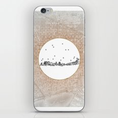 Barcelona, Spain City Skyline Illustration Drawing iPhone Skin