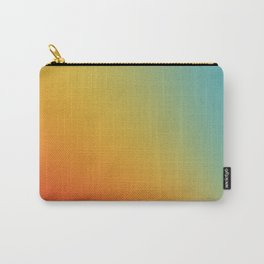 Gradient Colours: Red Yellow Blue Carry-All Pouch