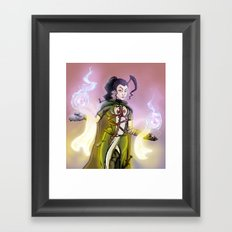 Souls. Framed Art Print