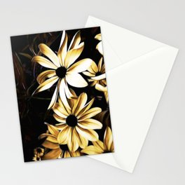 White Florals Stationery Cards