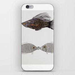 Kiss A Fish iPhone Skin