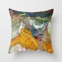 Radium Throw Pillow