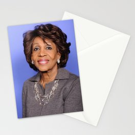 Maxine Waters - Black Culture - Black History Stationery Cards
