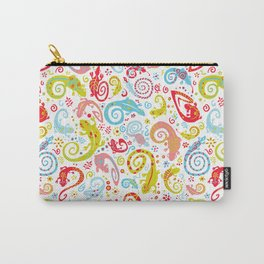 Chameleons Carry-All Pouch