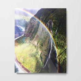 Maui Rainbows Metal Print