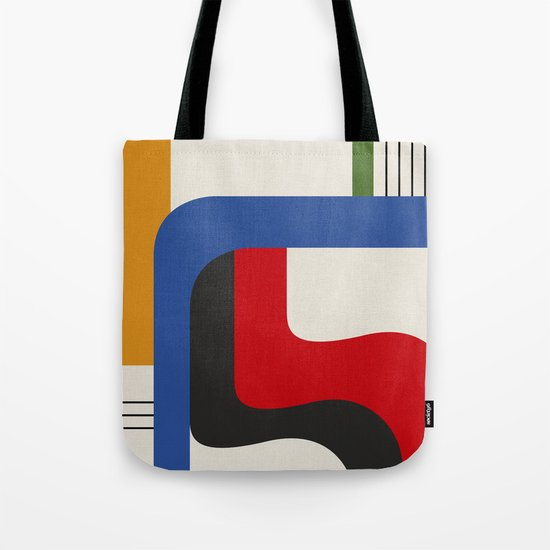 TAKE ME OUT (abstract geometric) Tote Bag