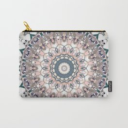 Pastel Boho Chic Mandala Design Carry-All Pouch