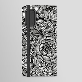Peony Fascination Android Wallet Case