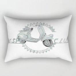Vespa Club Manchester UK Rectangular Pillow