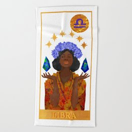 Libra Beach Towel