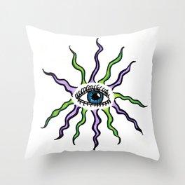 Flawless Eye Throw Pillow