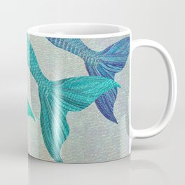 Glistening Mermaid Tails Coffee Mug
