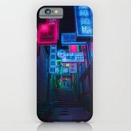 Neon Heaven iPhone Case