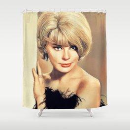 Elke Sommer, Actress Shower Curtain