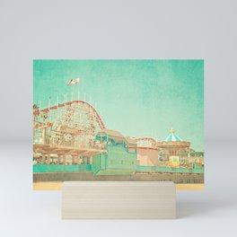 Santa Cruz Boardwalk Mini Art Print