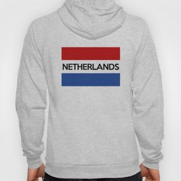 netherlands country flag name text Hoody